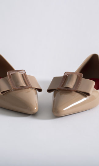 Melissa Pointy Buckle Flat