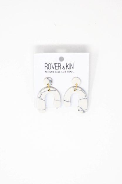Baby Parabola Earrings Rover and Kin Fair Trade