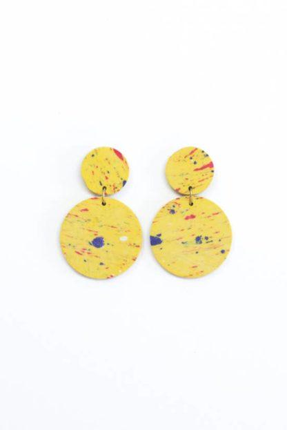 Confetti Clay Earrings Rover and Kin Fair Trade