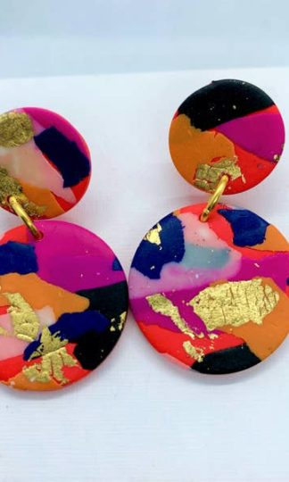 Fire + Flood Medium Earrings No Shrinking Violets