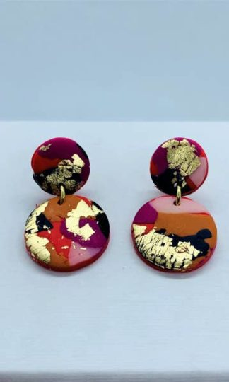 Fire + Flood Mini Earrings No Shrinking Violets