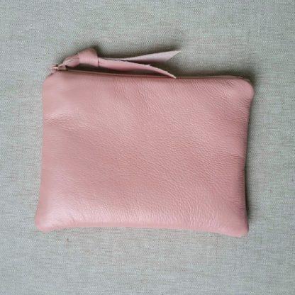 Handmade Small Leather Pouch Amara Felice