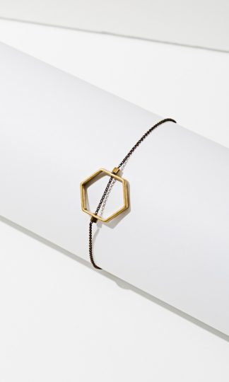 Horizon Hexagon Bracelet Lorissa Loden small