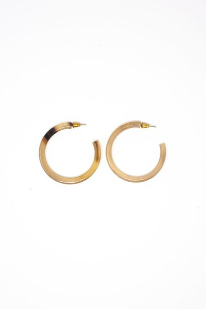 Horn Rounded Hoops Rover & Kin
