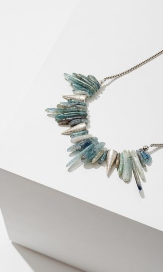 Kyanite Spike Necklace Larissa Loden