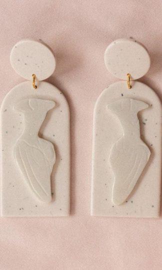 Elysian Theory Lady in Linen Earrings