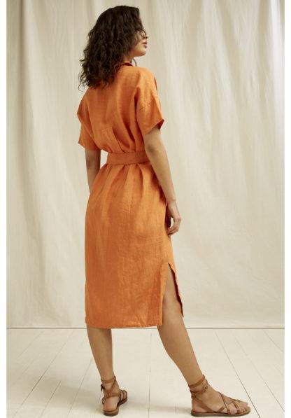 Leanora Dress Amber People Tree Fair Trade Organic