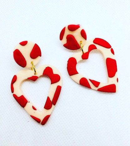 Love Drop Earrings No Shrinking Violet