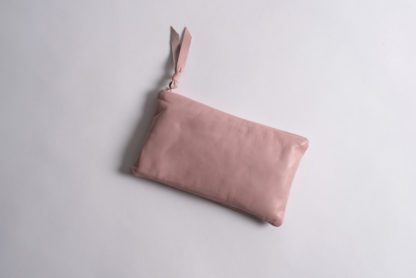 Solid Collection Handmade Large Pouch Ballet Pink