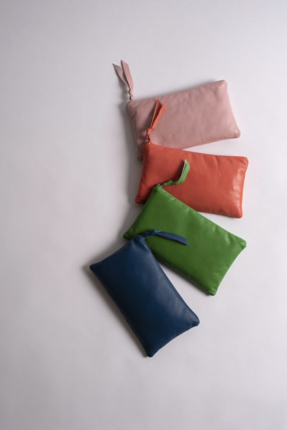 Solid Collection Handmade Large Pouch
