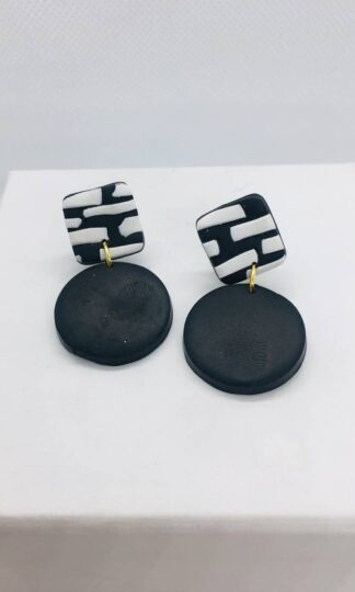 Helsinki Mini Earrings No Shrinking Violrt
