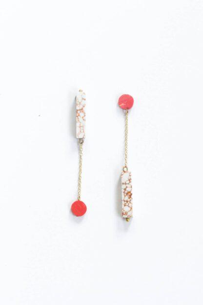 Reverse Clayworks Earrings from Rover & Kin.