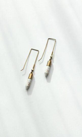 Clay Dagger Earrings Rover & Kin