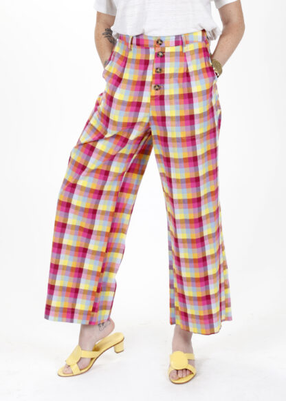 The Marshall Mad About Plaid Pant Saint Geraldine