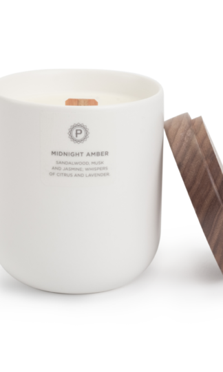 Midnight Amber Ceramic Candle Penrose Candles