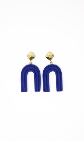 Ultramarine Rainbow Earrings Rover & Kin