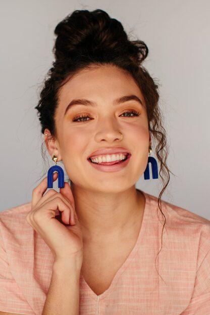 Ultramarine Rainbow Earrings Rover &Kin