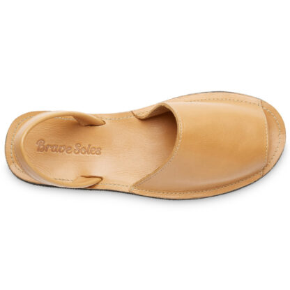 Avarca Sandal Brave Soles Zero-Waste Ethically Made Natural Leather