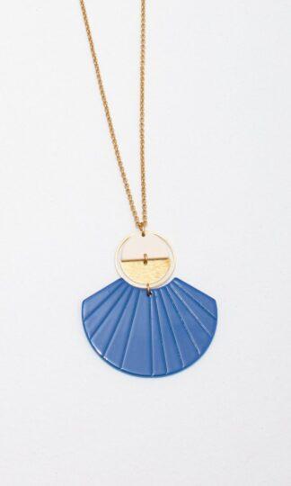 Ida Nacklace Blue Larissa Loden