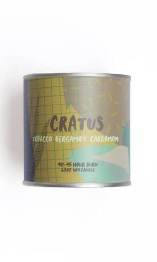 Cratus Soy Candle Olliver