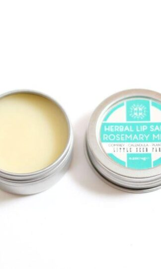 Lip Salve Rosemary Mint Little Seed Farm