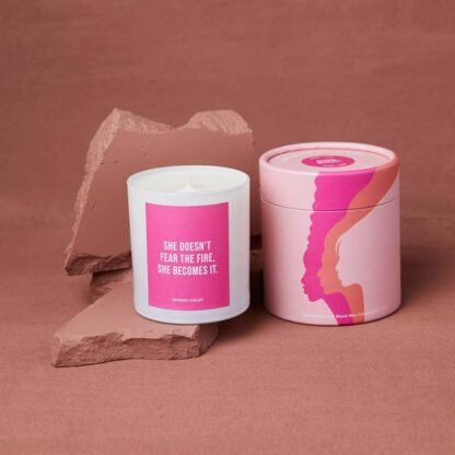 Rose and Oud Candle Modern Theory