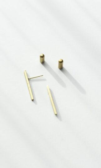 Slim Bar Earrings Rover & Kin