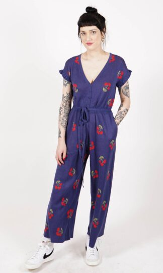 Saint Geraldine Phil Cherries Jubilee Jumpsuit