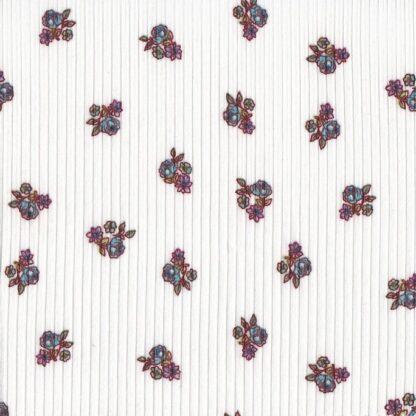 Cameo Vintage Turtleneck Ditzy Floral Ivory