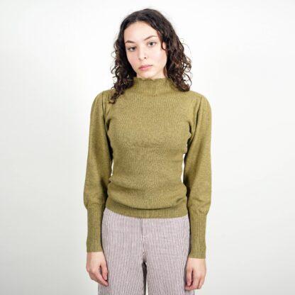 Saint Geraldine Gianni Mock Neck Sweater