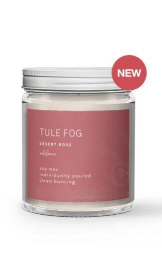 Desert Rose Soy Candle Tule Fog