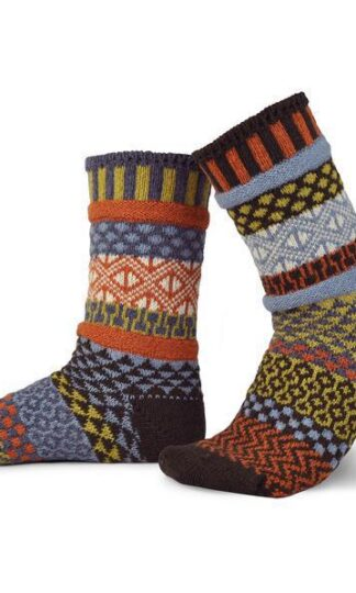 Ponderosa Recycled Wool Crew Socks from Solmate Socks