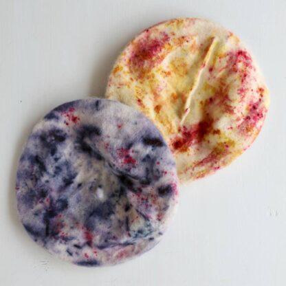 Botanical Dyed Confetti Beret Nade