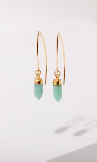 Esmeralda Amazonite Earrings Larissa Loden