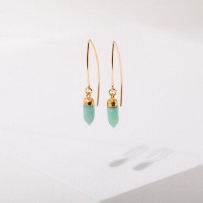 Esmeralda Amazonite Earrings Larissa Loden