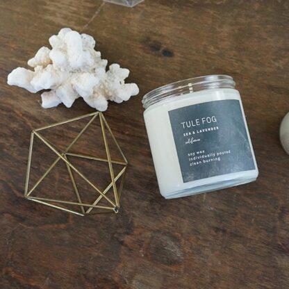 Sea & Lavender Soy Candle Tule Fog