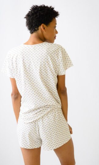 Lena Organic Cotton Pajamas Lazybones