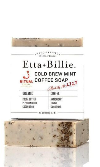 Cold Brew Mint Coffee Soap Etta + Billie