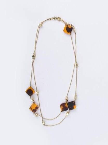 Margot Tortoiseshell Necklace by Mata Traders