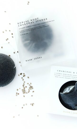 Charcoal Konjac Sponge Nash and Jones