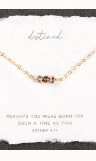 Destined Necklace by Dear Heart