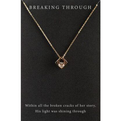 Breaking Through Necklace by Dear Heart