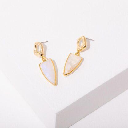 Danica Moonstone Earrings Larissa Loden