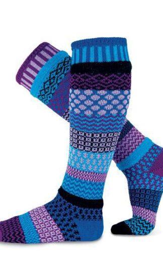 Solmate Raspberry Knee Socks