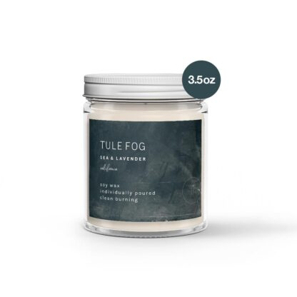 Sea & Lavendar Soy Candle Tule Fog