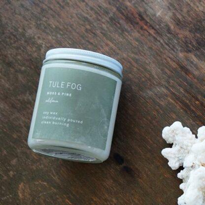 Moss + Pine Soy Candle Tule Fog