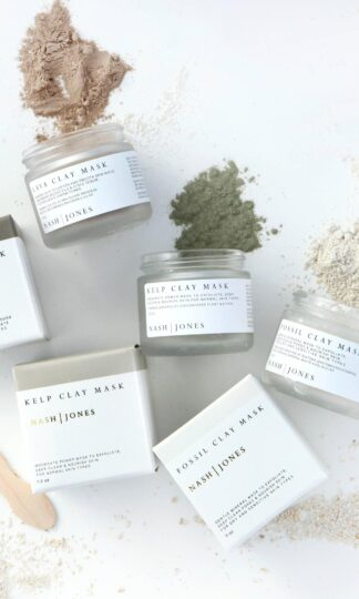 Fossil Clay Masks Nash and Jones