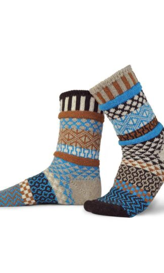 Walnut Recycled Wool Crew Socks from Solmate Socks