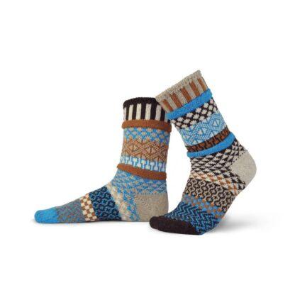 Walnut Recycled Wool Crew Socks from Solmate Socks