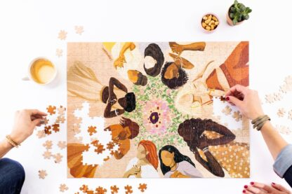 We Are One Jigsaw Puzzle Wander Puzzle Co.